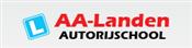 Autorijschool AA-Landen logo